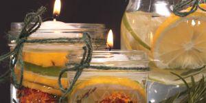 DIY : comment fabriquer une bougie à la citronnelle contre les moustiques