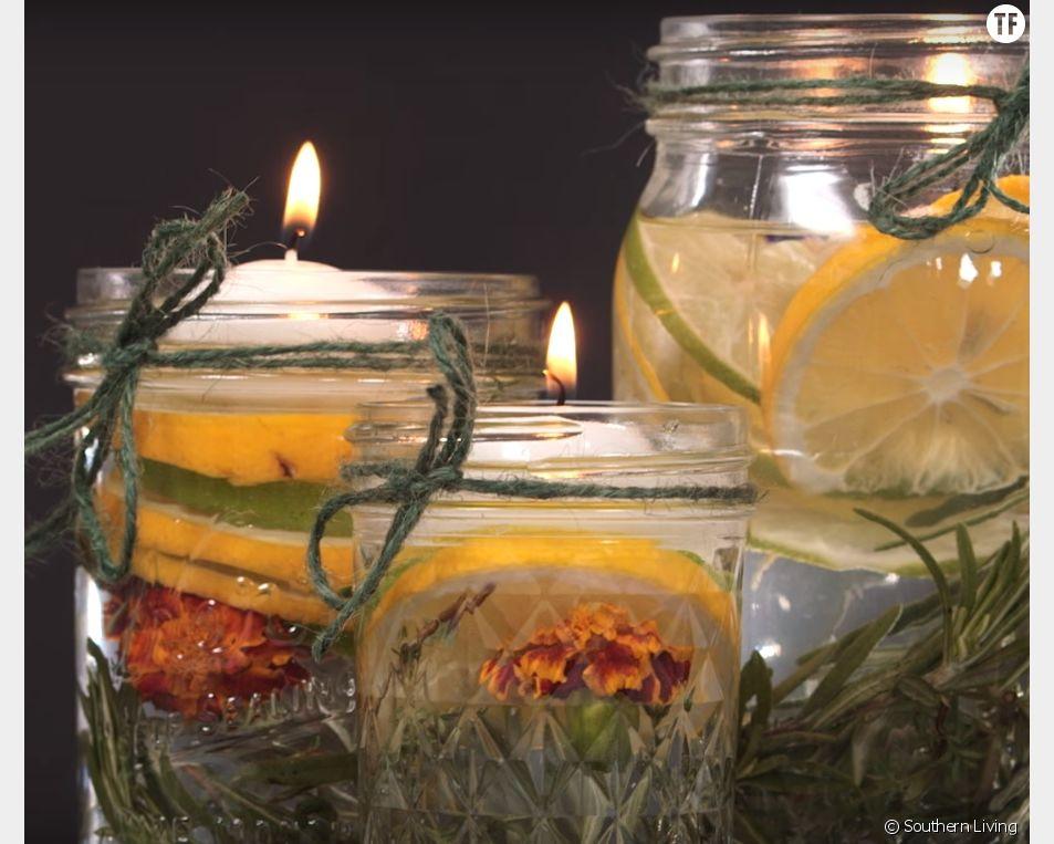 Comment créer soi-même une jolie bougie à la citronnelle