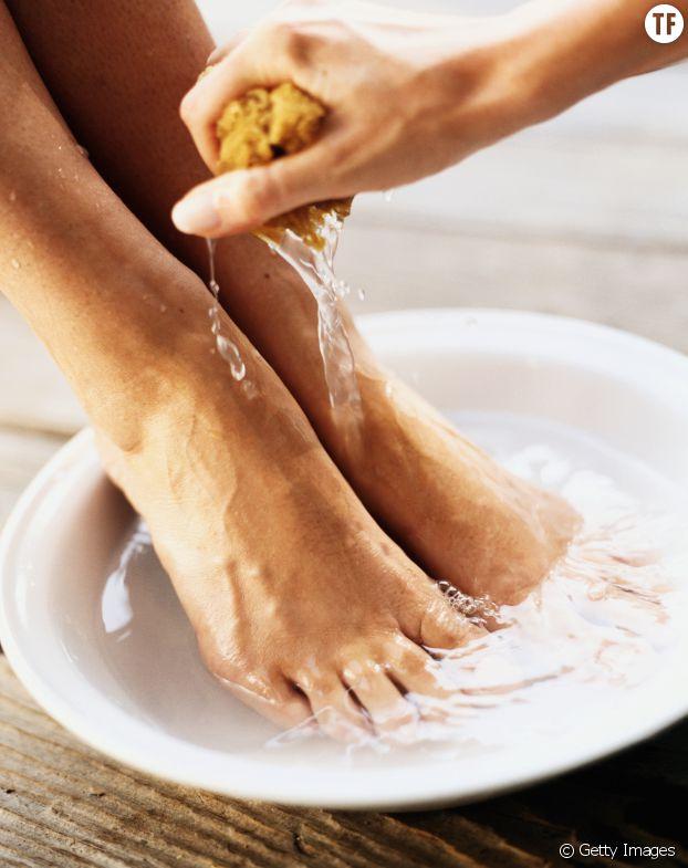 Faites des bains de pieds