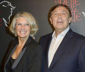 Jean-Pierre Foucault et sa compagne Evelyne Jarre en 2013