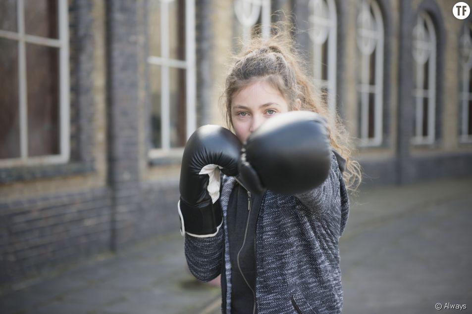 #CommeUneFille : la nouvelle campagne d'Always axée sur le sport