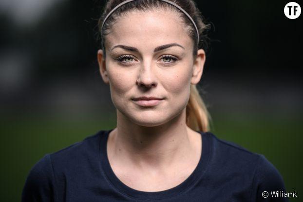 La footballeuse professionnelle Laure Boulleau