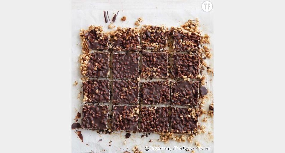 Recette du gâteau au chocolat et riz soufflé