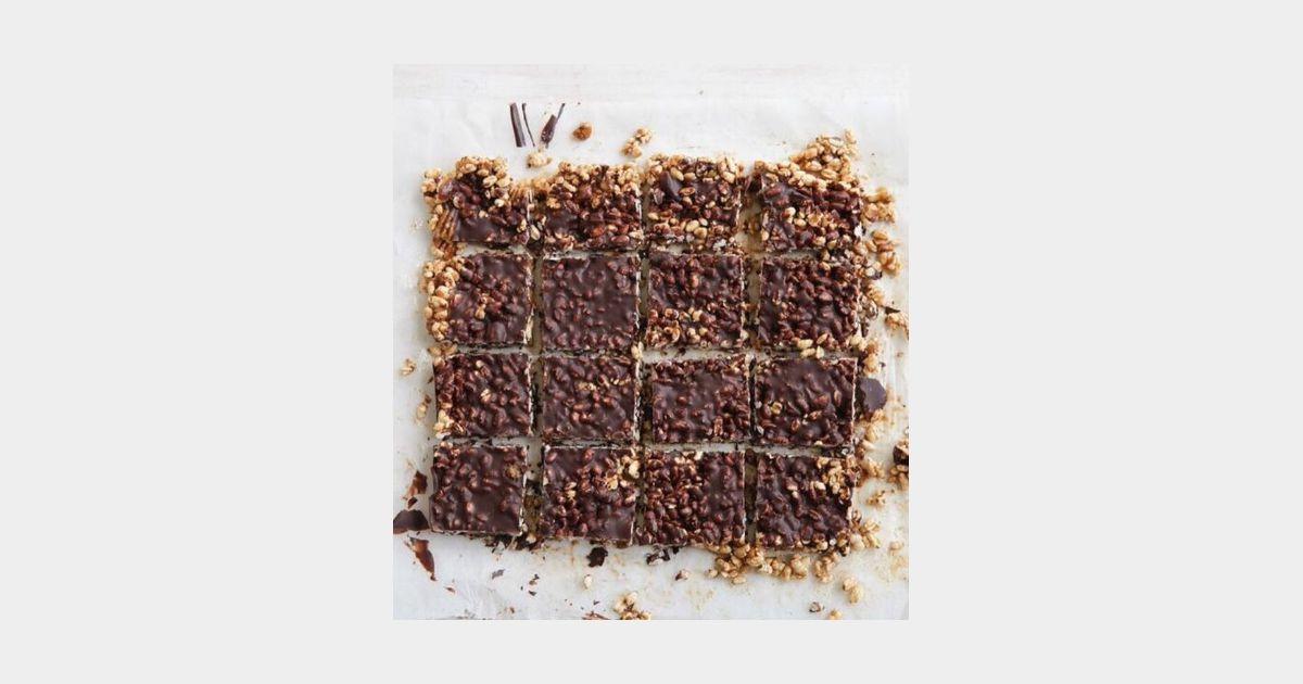 La recette healthy et gourmande du g teau au chocolat et riz souffl terrafemina - Gateau au chocolat healthy ...