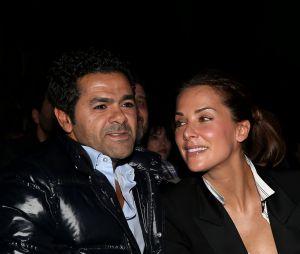 Jamel Debbouze et sa femme Mélissa Theuriau lors de la cérémonie de clôture et palmarès du 19ème Festival International du film de Comédie de l'Alpe d'Huez, le 16 janvier 2016