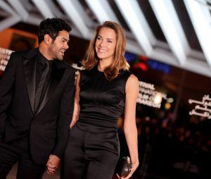 Jamel Debbouze et Melissa Theuriau au 13eme Festival International du Film de Marrakech le 1er decembre 2013