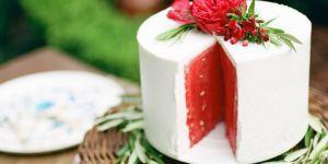 La recette très étonnante du gâteau à la pastèque
