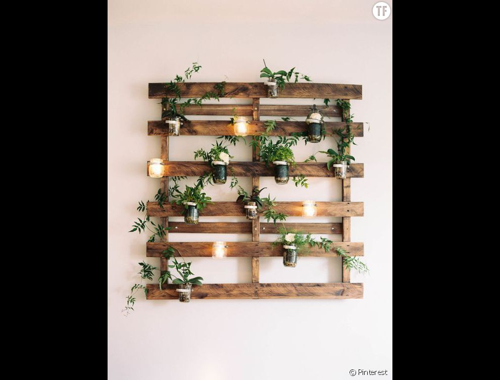 Idees deco en recuperation et recyclage pictures to pin on - Idee deco recuperation ...