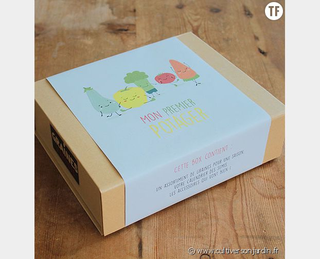 La box Mon Premier Potager