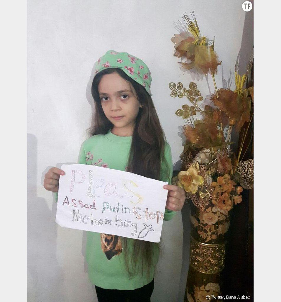 Bana Alabed, 7 ans, piégée dans l'enfer d'Alep, raconte son quotidien sur Twitter