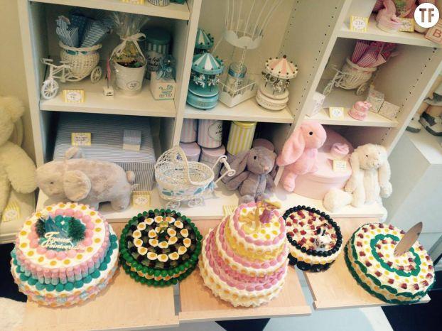 Les derniers gâteaux de bonbons réalisés par Hannah