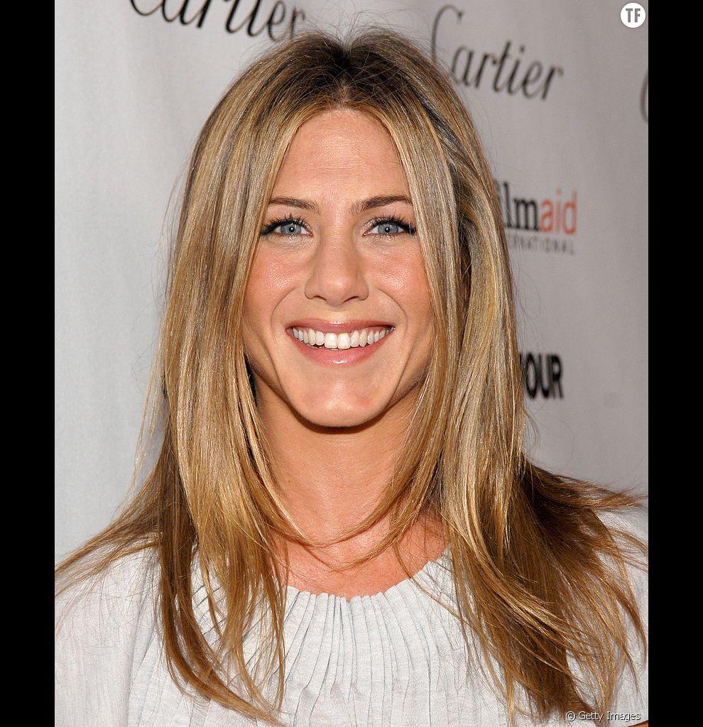 Le dégradé de Jennifer Aniston est un très bon choix pour donner du mouvement aux cheveux fins.