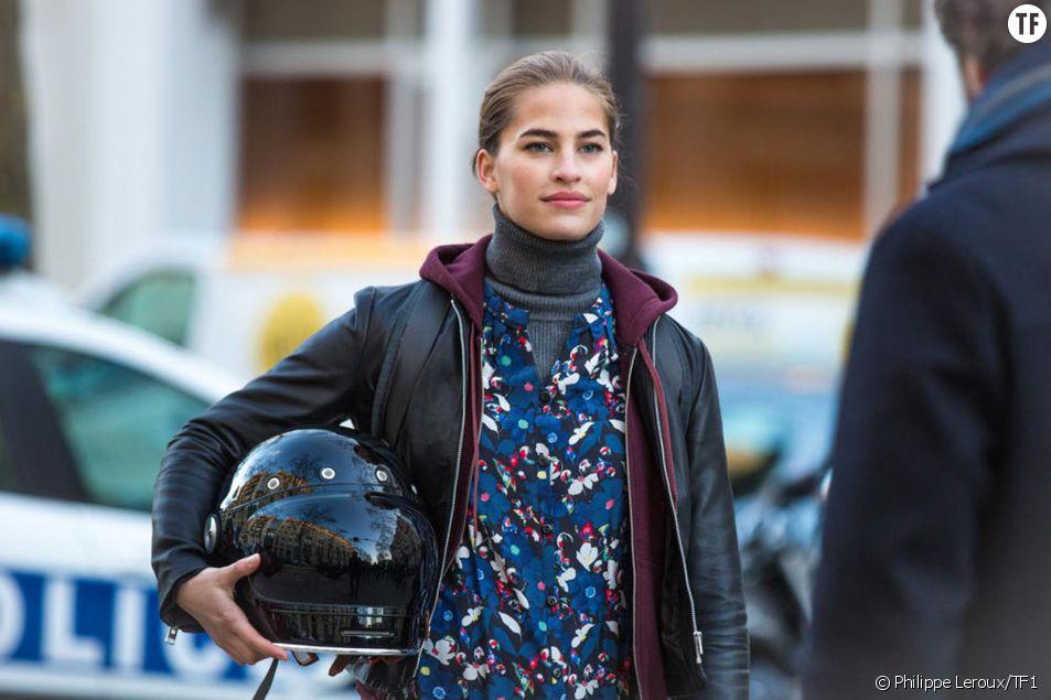 L'actrice Solène Hébert dans la série Emma sur TF1
