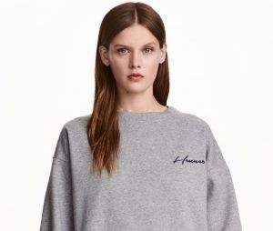 Sweat-shirt gris H&M, 39,99€