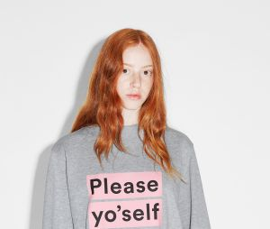 Sweat-shirt Monki, 25€