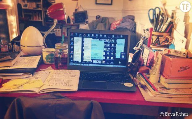 Le bureau de Baya Rehaz