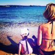 Sylvie Tellier, son compagnon Laurent et leur fille Margaux sur Instagram