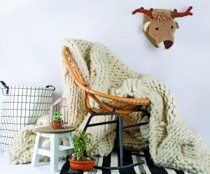 Comment tricoter une couverture XXL en moins de 4h