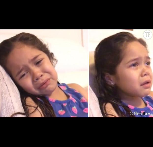 Fille Qui Pleure cette petite fille qui pleure le départ de barack obama fait fondre