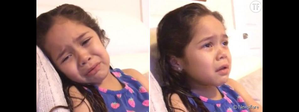 Cette petite fille qui pleure le départ de Michelle Obama fait fondre la planète