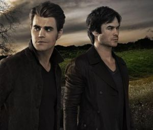 Stefan et Damon Salvatore dans The Vampire Diaries