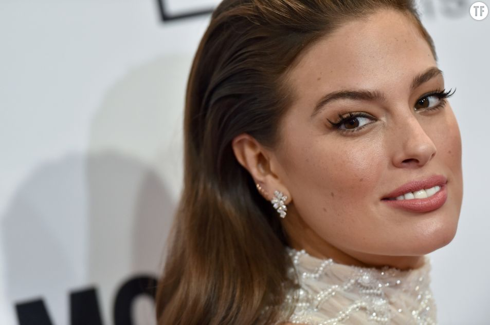 Le mannequin Ashley Graham aux Glamour Women of the Year 2016