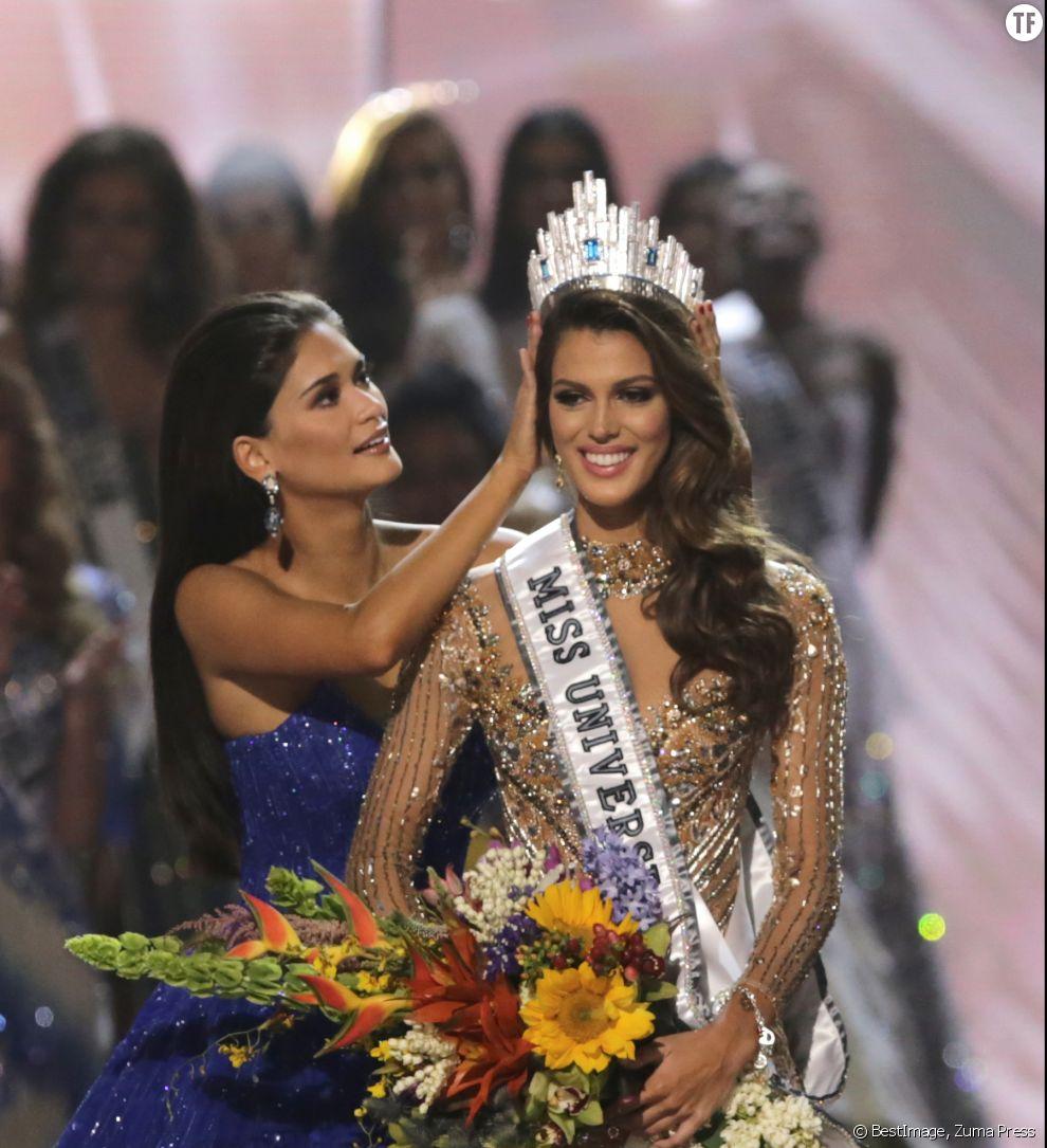 Miss univers 2017 la fran aise iris mittenaere couronn e vid o et classement - Iris mittenaere miss monde ...