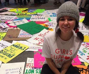 Cette jeune fille peint les conséquences d'une agression sexuelle