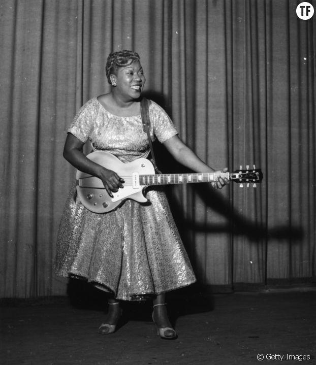 La chanteuse et guitariste Rosetta Tharpe
