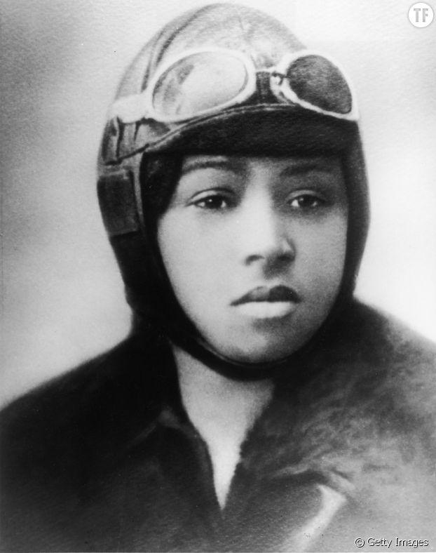 La pilote Bessie Coleman