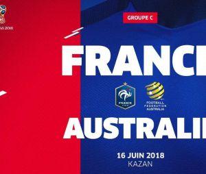 France-Australie, match coupe du Monde 2018