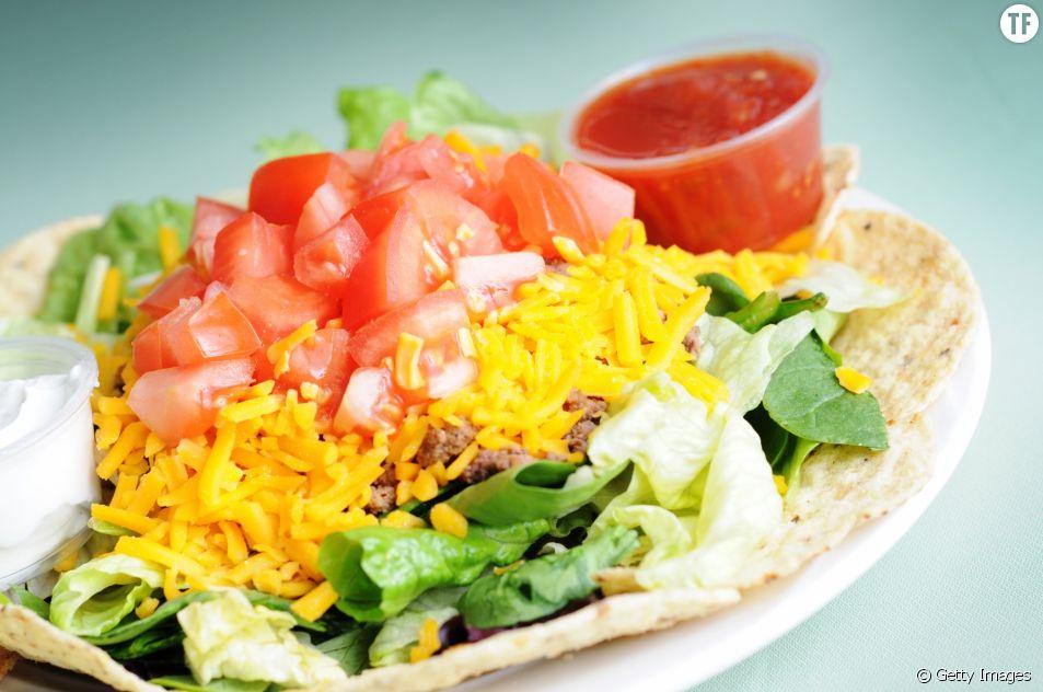 La recette de la salade de tacos