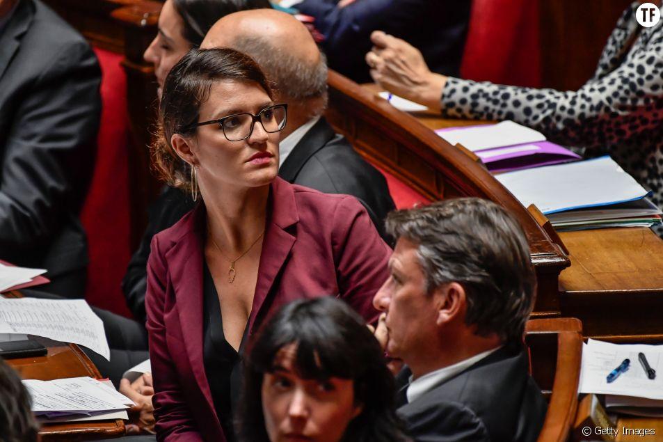 Marlène Schiappa à l'Assemblée nationale en octobre 2017