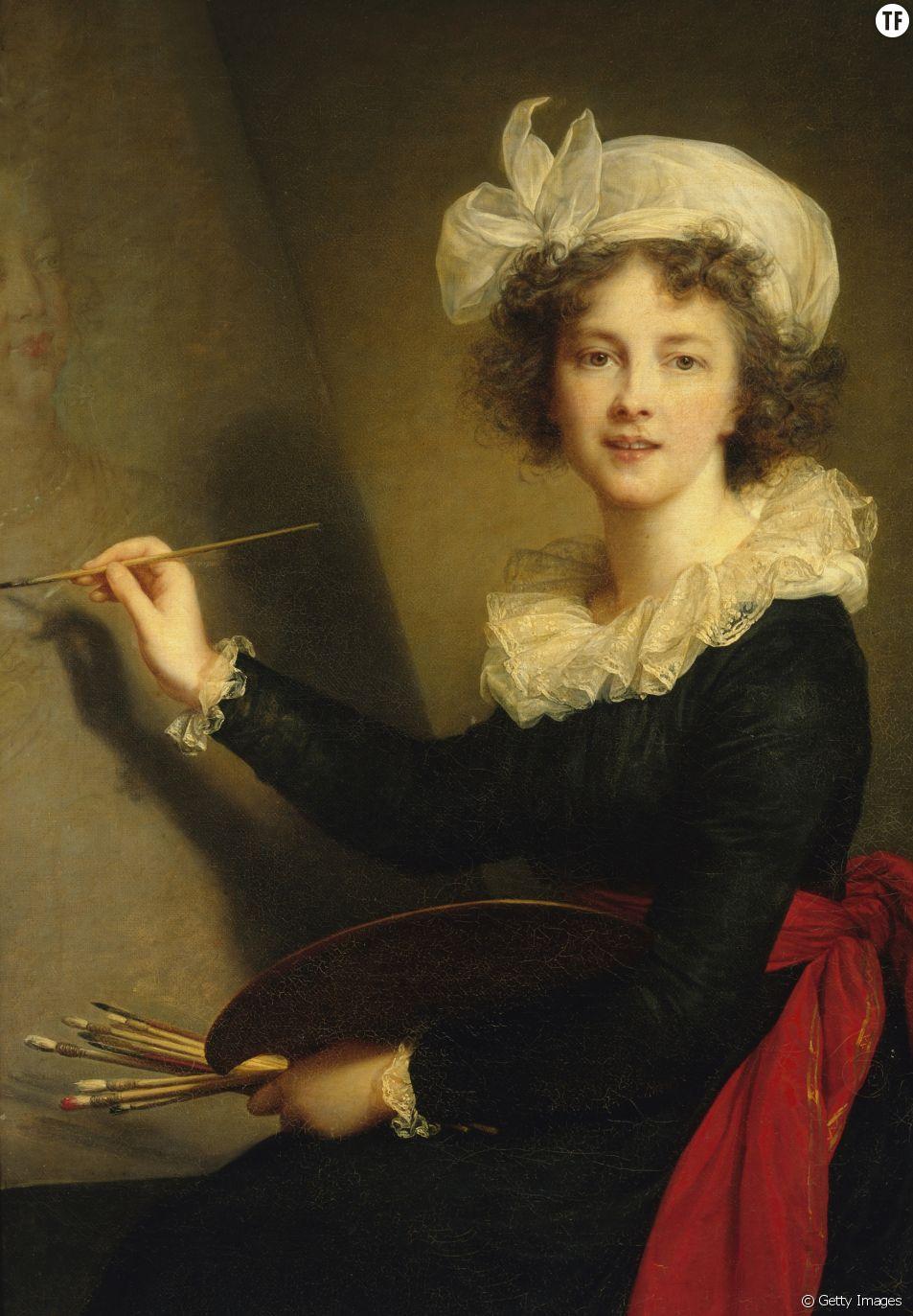 Auto-portrait d'Élisabeth Vigée Le Brun 1790