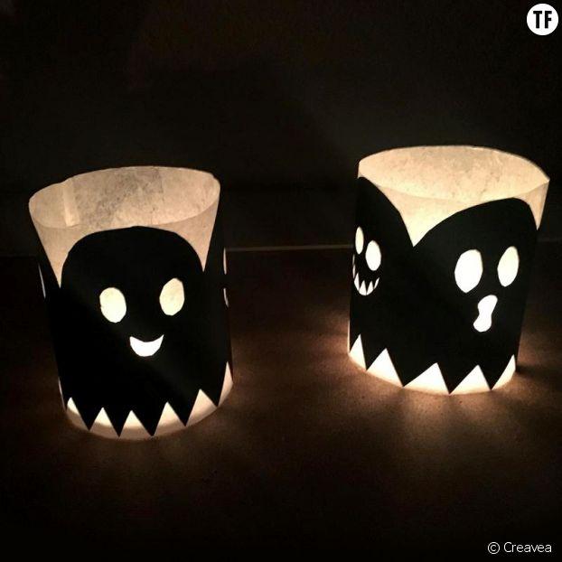 Les photophores d'Halloween