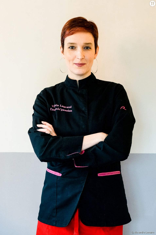 Virginie Legrand, alias Vivi Popote : cheffe à domicile