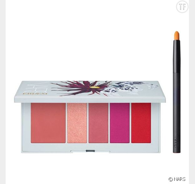 Erdem Poison Rose Lip Power Palette, Nars