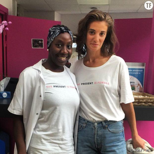 Pour chaque commande passée, Meuf Paris reverse 1 € à l'association Maison des Femmes, à Saint-Denis.