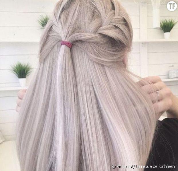Le nouveau blond de l'hiver.