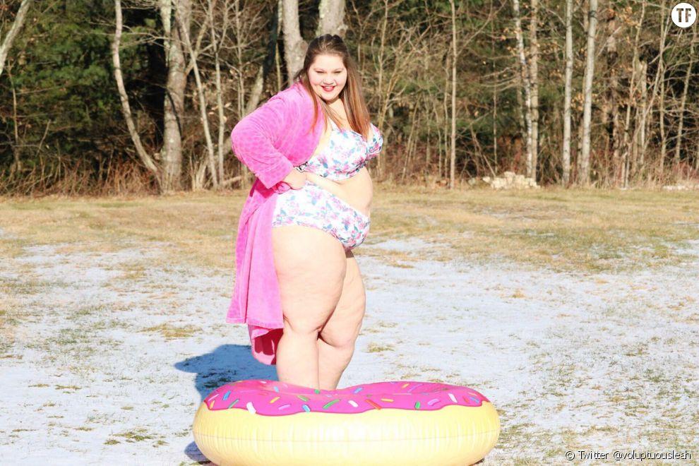 La mannequin Leah Stanley dénonce la grossophobie