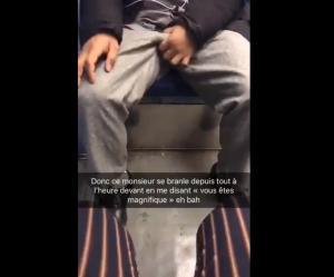 Elle publie la vidéo d'un homme se masturbant dans le métro pour dénoncer le harcèlement sexuel