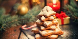 La recette des sablés de Noël en trois ingrédients