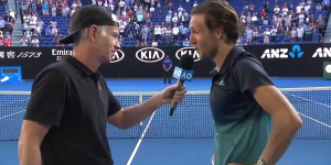 Quand Lucas Pouille remet en place John McEnroe après une question sexiste