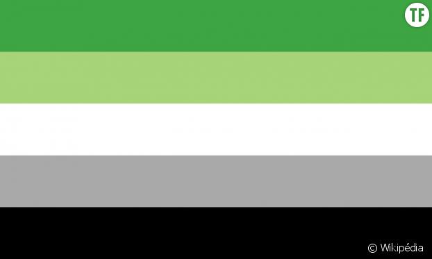 Le drapeau aromantique