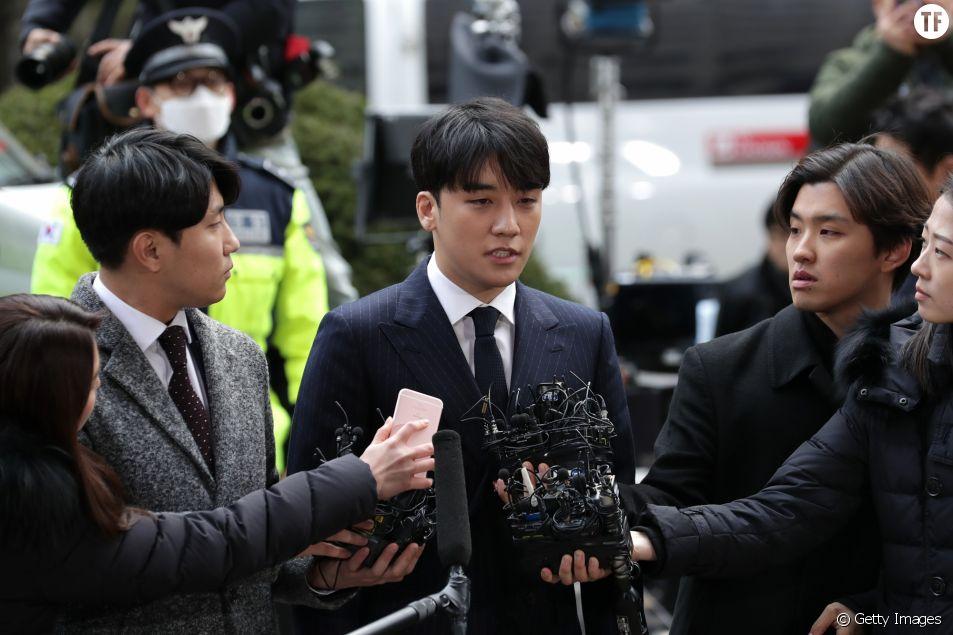 Le chanteur de K-pop Seungri accusé de violences sexuelles