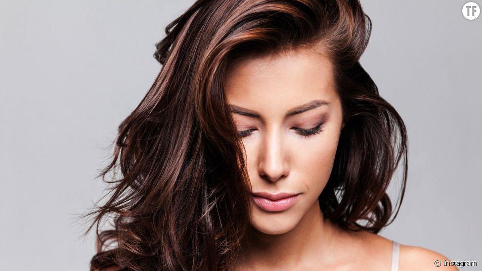 Modele de couleur de cheveux chocolat