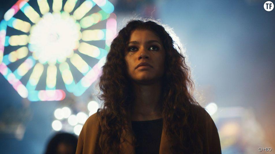 Zendaya dans la série Euphoria
