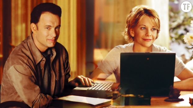 """Tom Hanks et Meg Ryan dans """"Vous avez un message"""" de Nora Ephron"""