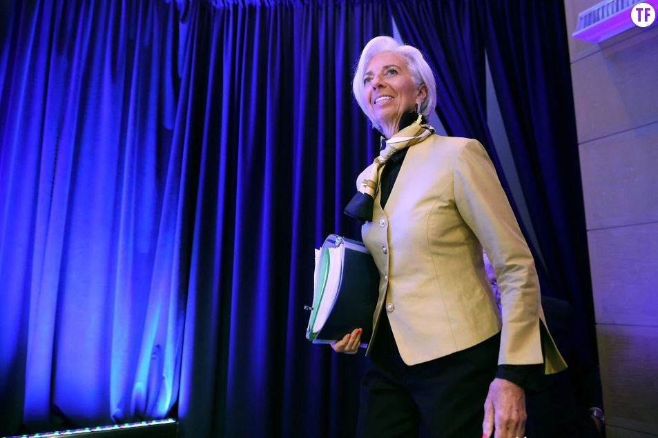 Christine Lagarde nommée à la tête de la Banque centrale européenne. Getty Images.