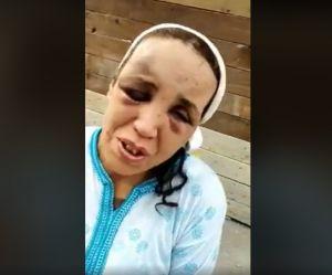 La vidéo d'une femme rouée de coups par son mari indigne le Maroc